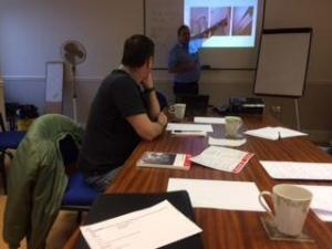 Asbestos awareness Training - an Asbestos Awareness Training course taking place at Armco Asbestos training premises in Bury, Manchester.
