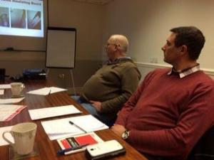 Asbestos Training Courses - Attendees at an Asbestos Awareness Training course at Armco Asbestos training facilities in Bury
